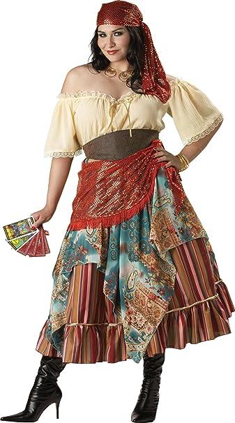 Incharacter Costumes Women S Plus Size Fortune Teller Costume