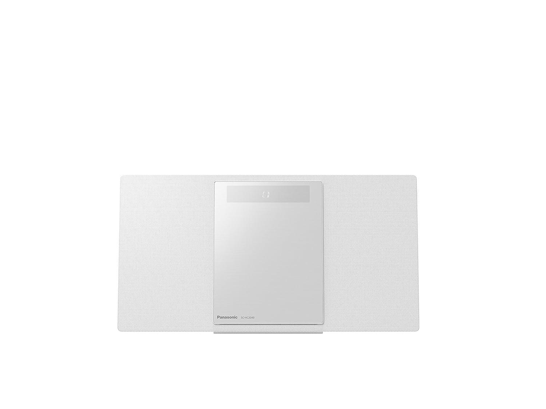 Panasonic SC-HC2040 HiFi CD Player Blanco - Unidad de CD (40 W, Dab+,FM, Interno, HiFi CD Player, Blanco, 2 Canales)