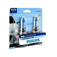 Philips 9008 / H13 CrystalVision Ultra Upgrade Headlight Bulb, 2 Pack