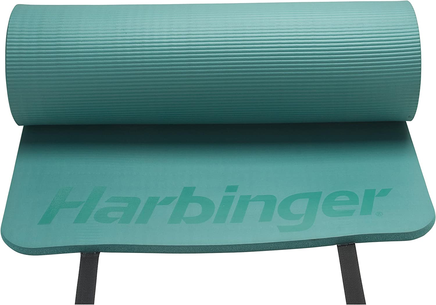 Harbinger Ribbed Durafoam Exercise Mat 5/8-Inch, Green : Sports & Outdoors