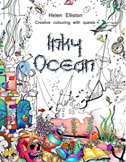 inky ocean creative colouring with quests inky colouring books volume 1