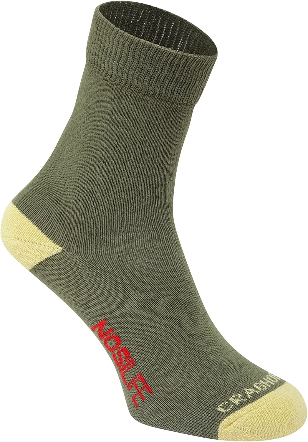 Craghoppers NosiLife Padded Travel Socks Twin Pack