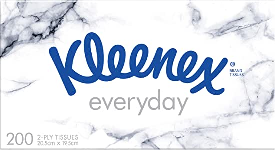 KLEENEX Facial Everyday Tissues, 200 sheets