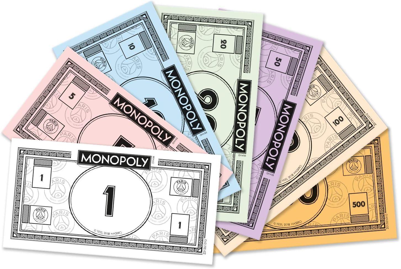Winning Moves Monopoly Paris Saint Germain Edition de Las Leyendas, 0099, Version Francesa: Amazon.es: Juguetes y juegos