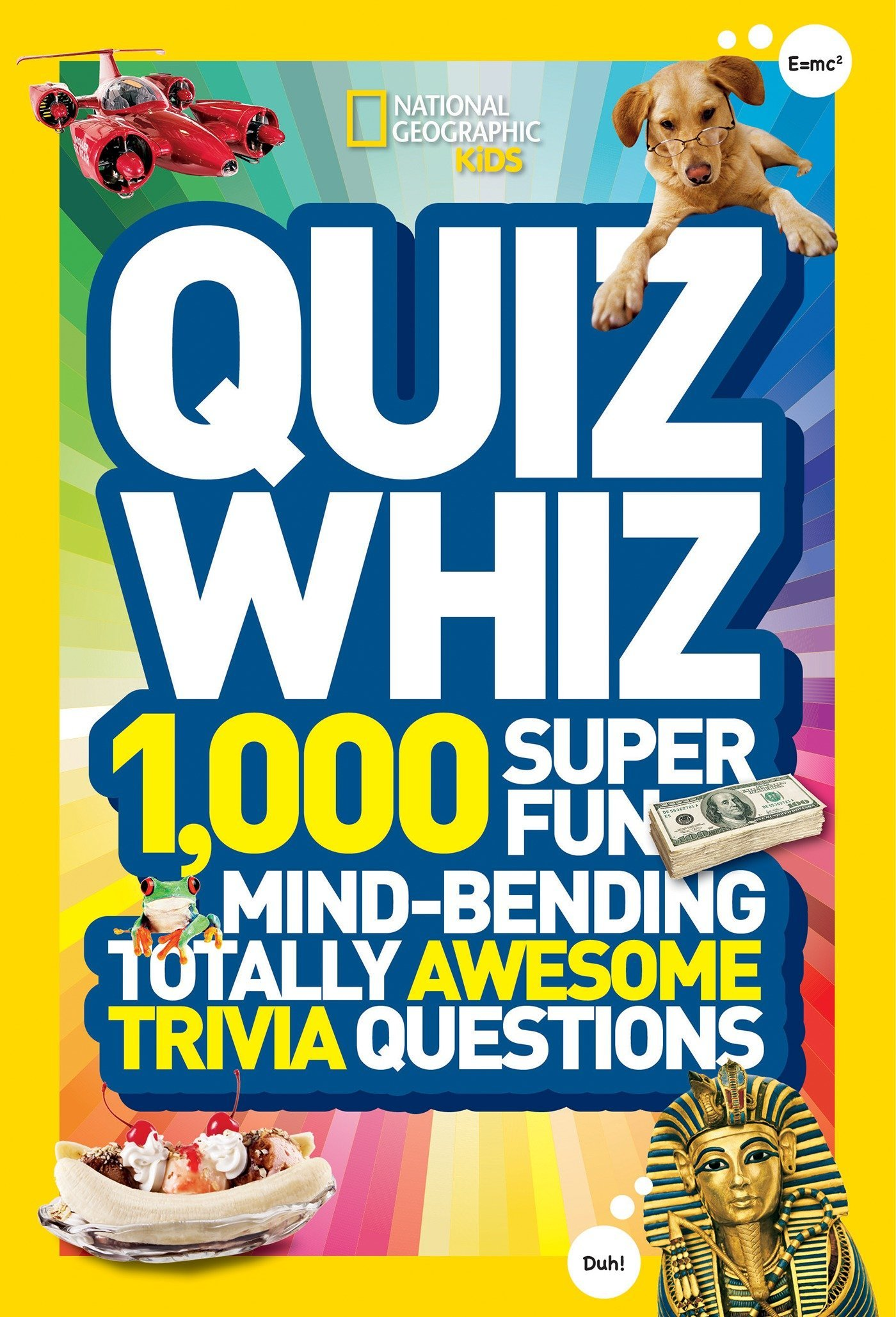 Quiz Whiz: 1000 Super Fun Mind-bending Totally Awesome Trivia Questions (Quiz Whiz ) [Idioma Inglés]