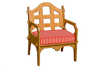 Amazon.com: Wedgewood Muebles salón Palladian chair-p, Rojo ...