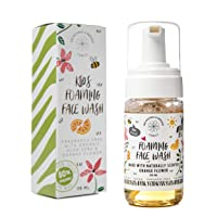 Gentle Kids Foaming Face Wash Organic – Natural - Vegan - Toxin-Free - Sulphate...