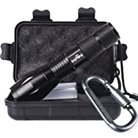 Tactical Portable LED Flashlight 1000 Lumens with 5 Modes