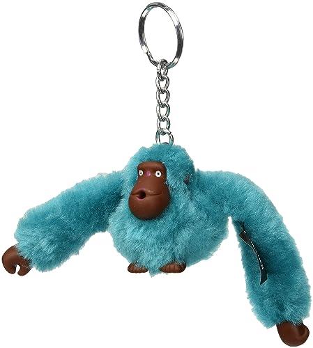 d899d4327df Kipling - Monkeyclip S(10), Llaveros Mujer, Azul (Bright Aqua), 4x4 ...