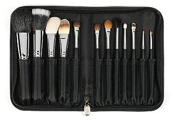 752b4864faaa Sedona Lace Travel 12 Piece Professional Makeup Brushes - Black