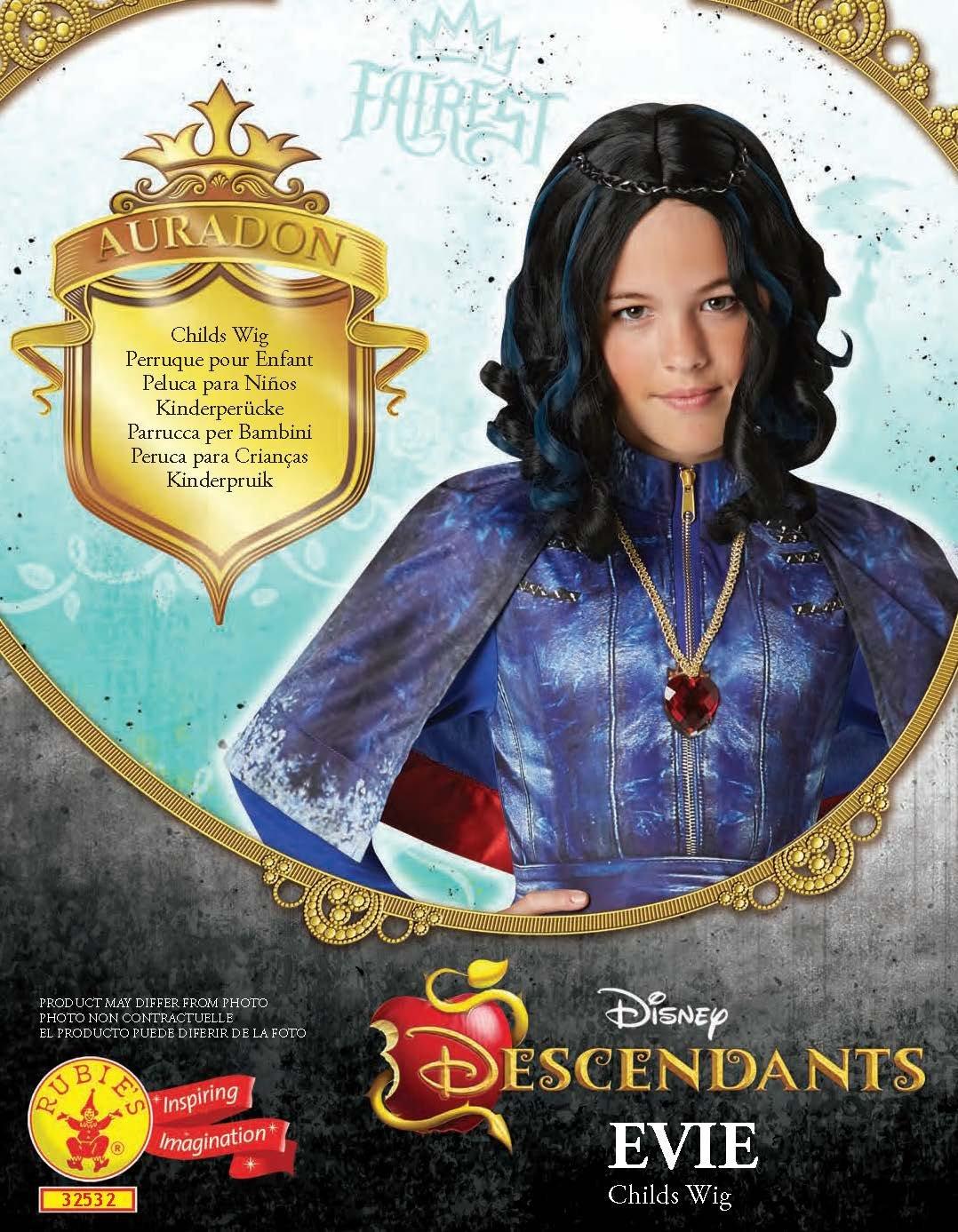 Los Descendientes - Peluca Evie, para niños (Rubies 32532): Amazon.es: Juguetes y juegos
