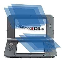 6x ANTIREFLEX matt Schutzfolie für New Nintendo 3DS XL Konsole (je 3 Folien pro Display) Premium Displayschutzfolie Bildschirmschutzfolie Display Schutz Schutzhülle Displayschutz Displayfolie Folie