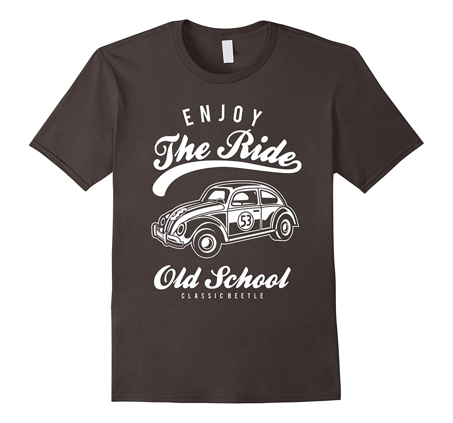 Enjoy the ride old school classic beetle T-shirt-CL – Colamaga