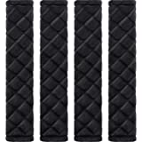 Tatuo 4 Pack Car Seat Belt Pads Seatbelt Protector Soft Comfort Seat Belt Shoulder Strap Covers Harness Pads Helps…