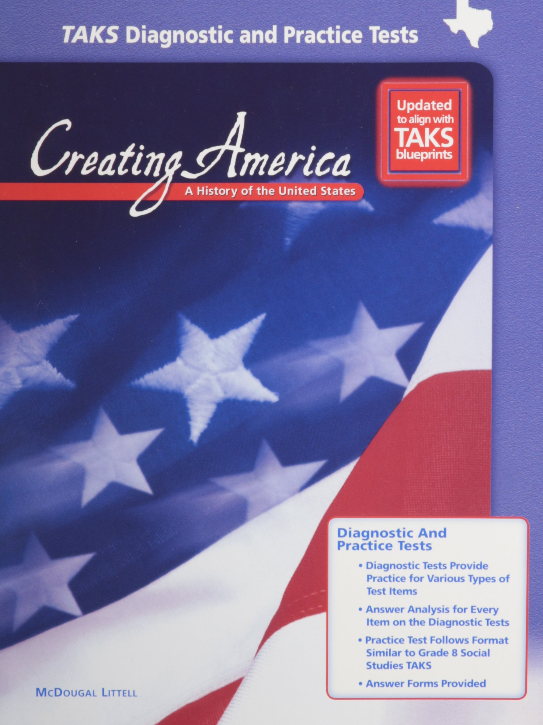 Amazon com: McDougal Littell Creating America: TAKS