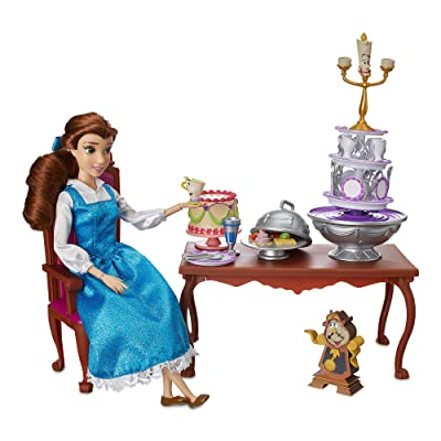 Disney Belle Classic Doll Dinner Party Play Set - Beauty and The Beast: Toys & Games