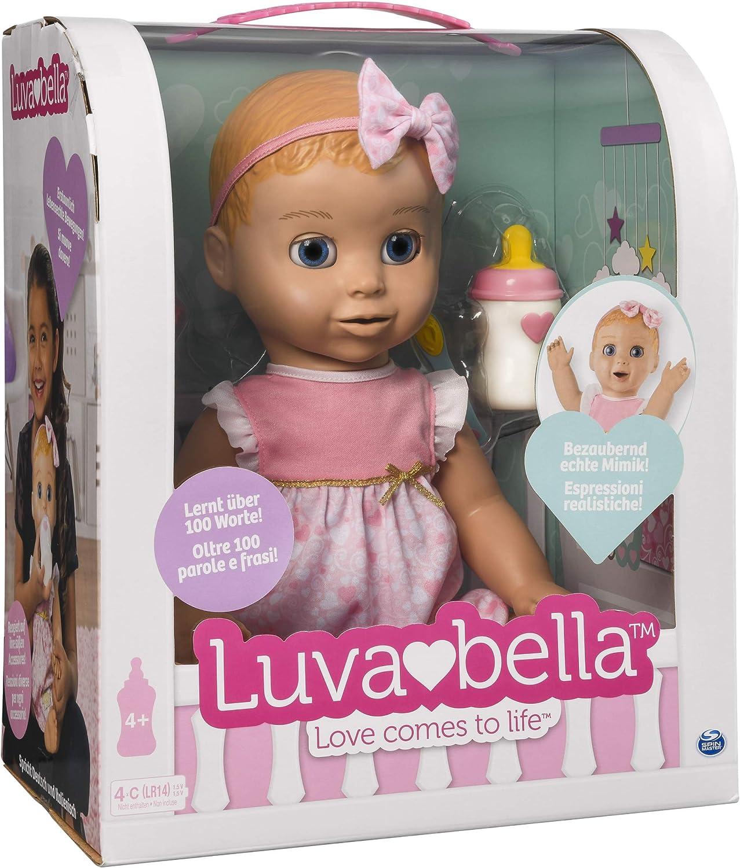 Luvabella- Bambola Interattiva, Versione Italiana/Tedesca, Colore