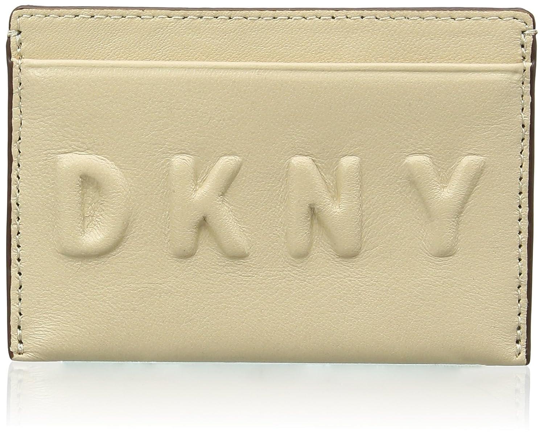 DKNY Card Holder, Cartera de Mano para Mujer, Beige (Nude), 3x7.62x11.43 cm (W x H x L): Amazon.es: Zapatos y complementos