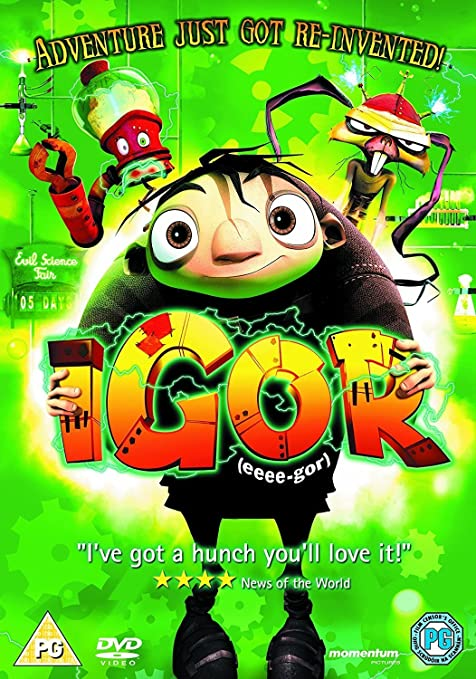 Igor [DVD] [2008]: Amazon co uk: DVD & Blu-ray