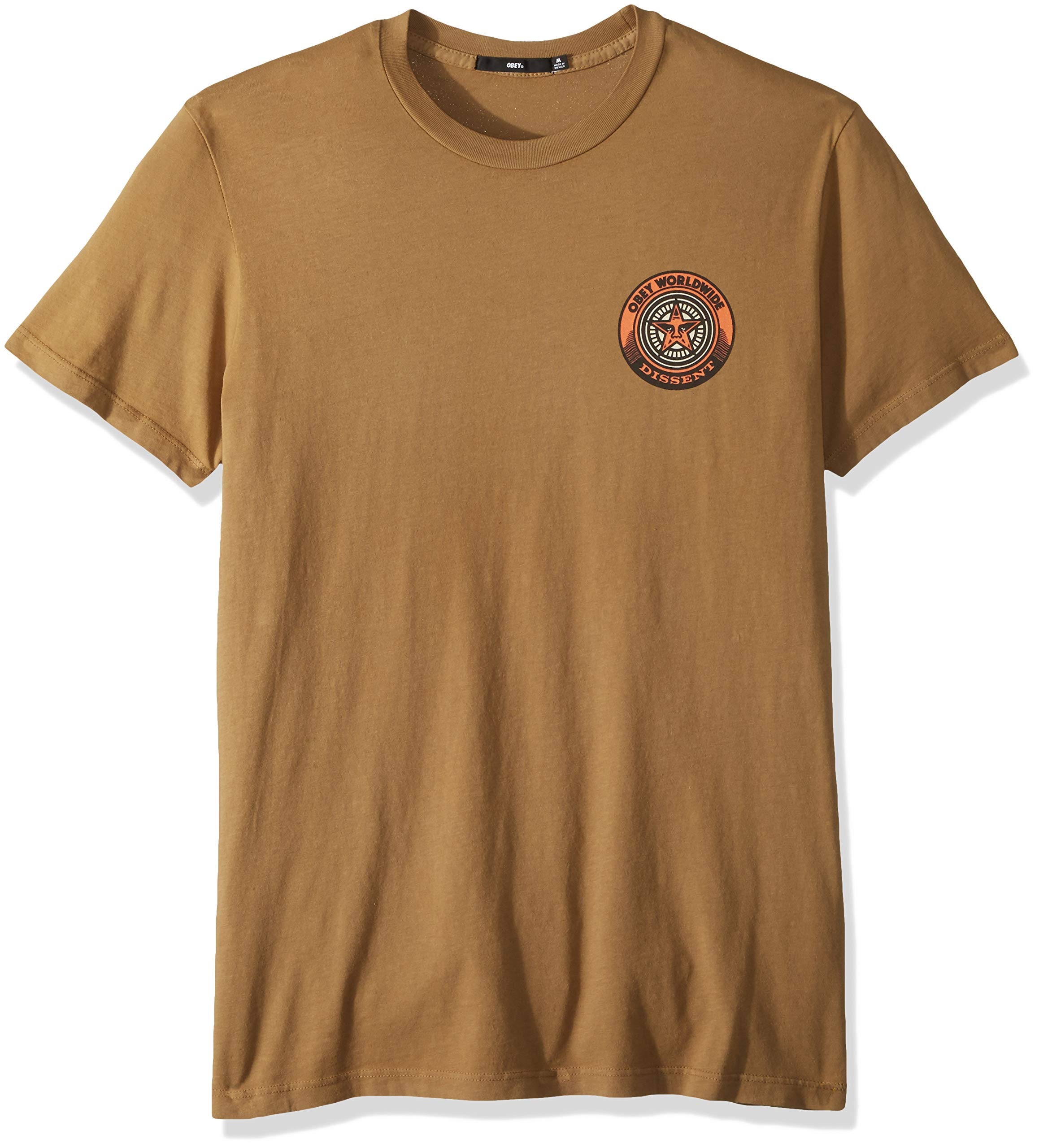 Obey Men's Dissent Short Sleeve Superior T-Shirt, Tapenade, Large