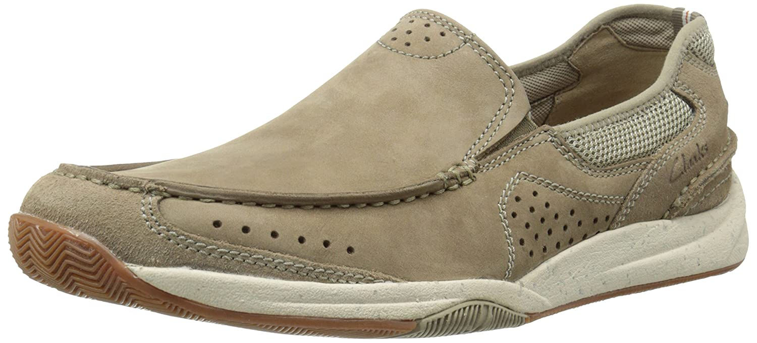 a916e3d1f CLARKS Men's Allston Free Slip-On Loafer, Taupe, 10 W US: Amazon.ae