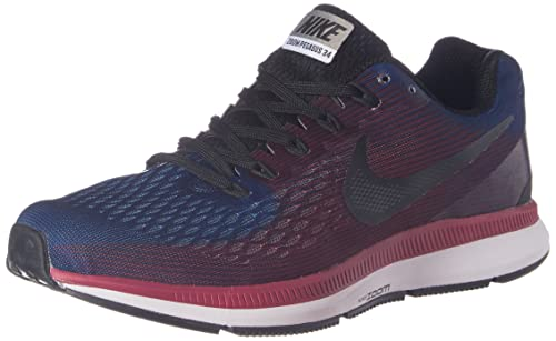 8893ecfee306 Nike Men s Air Zoom Pegasus 34 Blue Running Shoes - 7 UK India (41 EU)(8 US )(880555-006)  Buy Online at Low Prices in India - Amazon.in