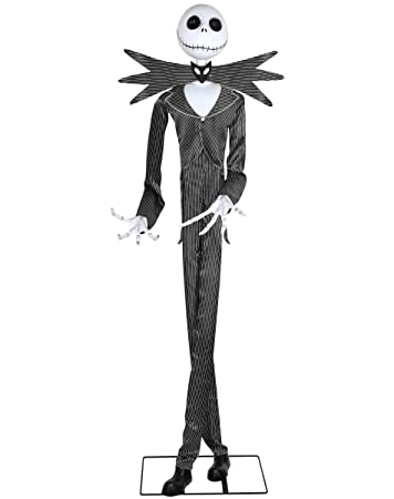 spirit halloween 6 ft jack skellington animatronics decorations the nightmare before christmas - Animatronic Christmas Decorations