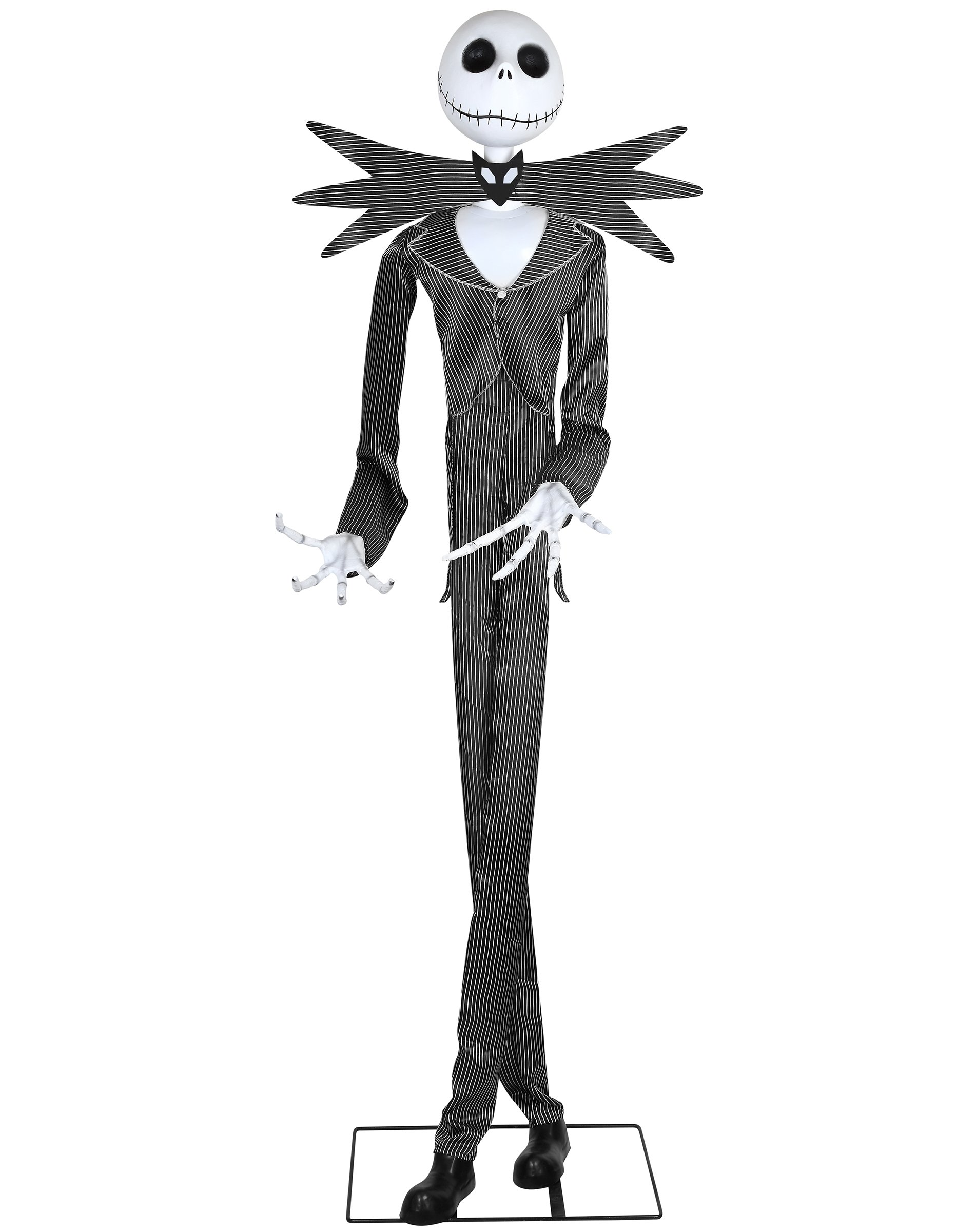 Spirit Halloween 6 Ft Jack Skellington Animatronics Decorations – The Nightmare Before Christmas by Spirit Halloween