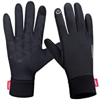 coskefy Winter Gloves Outdoor Thermal Gloves Men Women Windproof Cycling Gloves with Touchscreen Function Driving Gloves Running Gloves