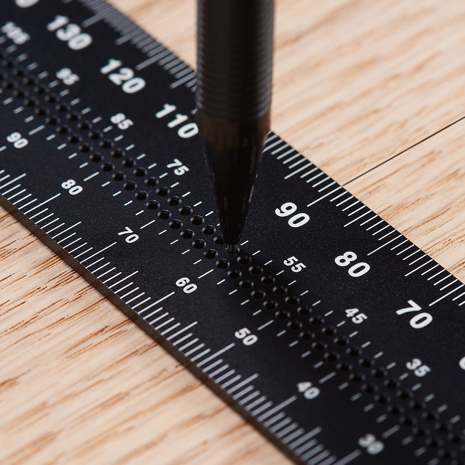 TRY /& MITRE SQUARE 100mm 200mm RULER MEASURE WOOD TOOL CARPENTRY