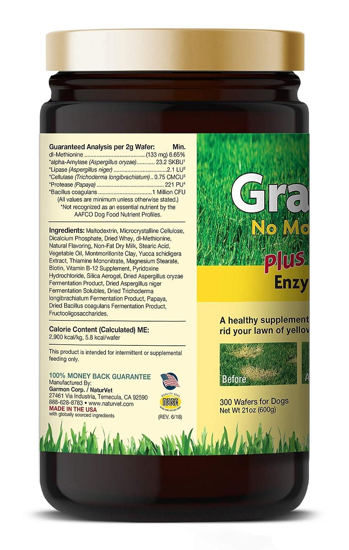 naturvet grasssaver Obleas masticables: Amazon.com: Grocery ...