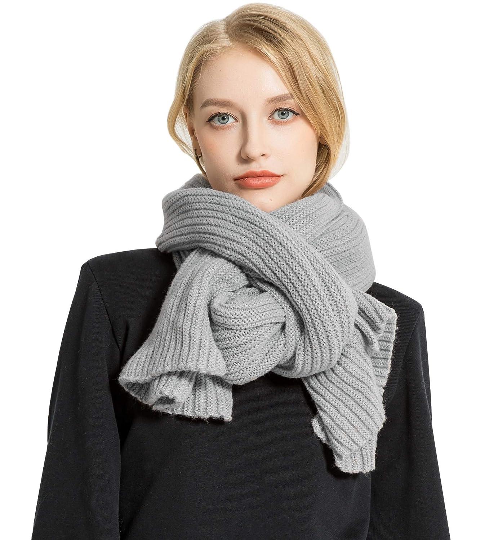 Superora Sciarpa da Donna Inverno in Maglia Moda Foulard Scaldacollo Elegante per Donne FZM1749-16-N/LK