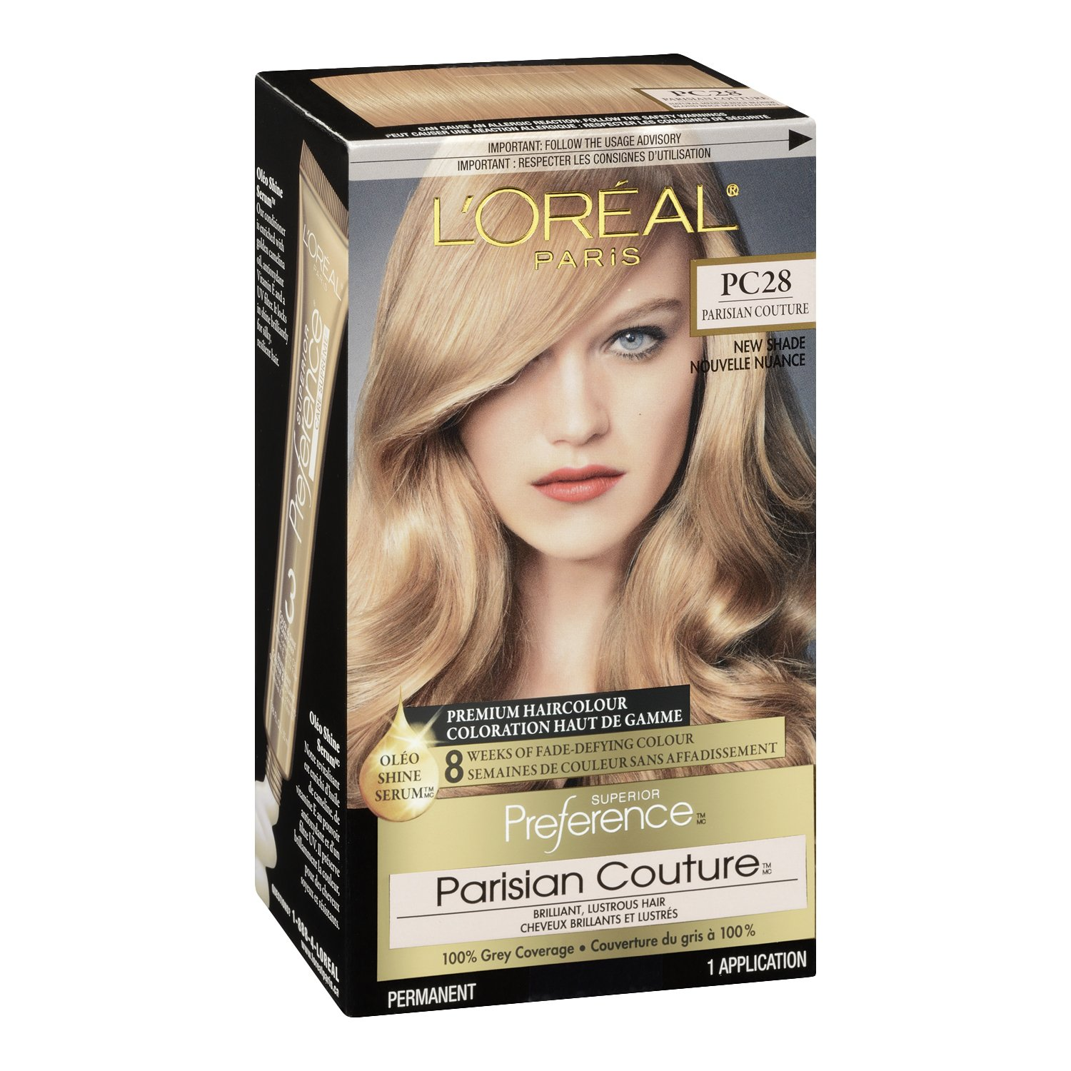 Loral Paris Superior Preference Permanent Hair Color 8rg Rose