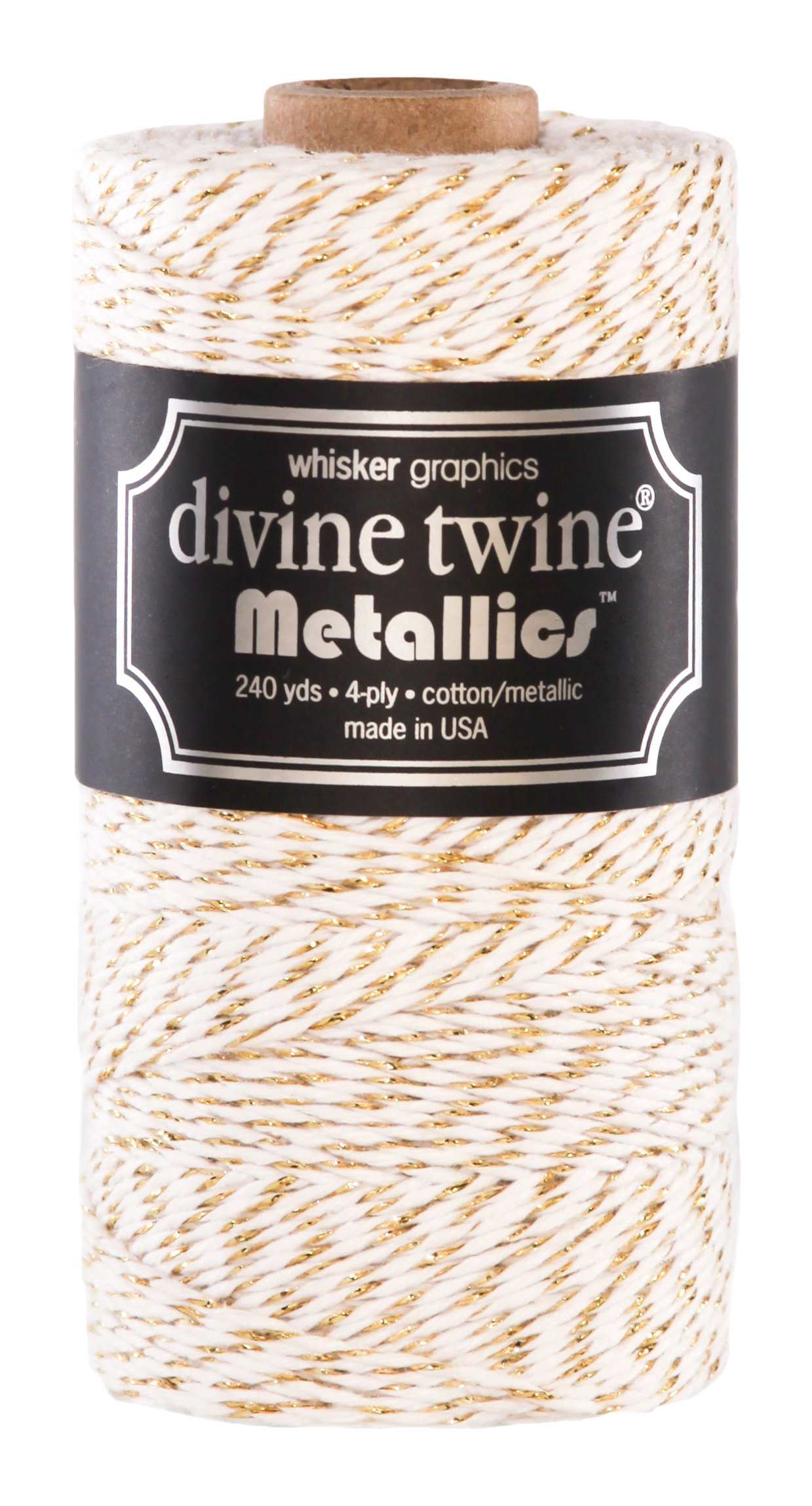 Divine Twine, Gold Metallic by Divine Twine