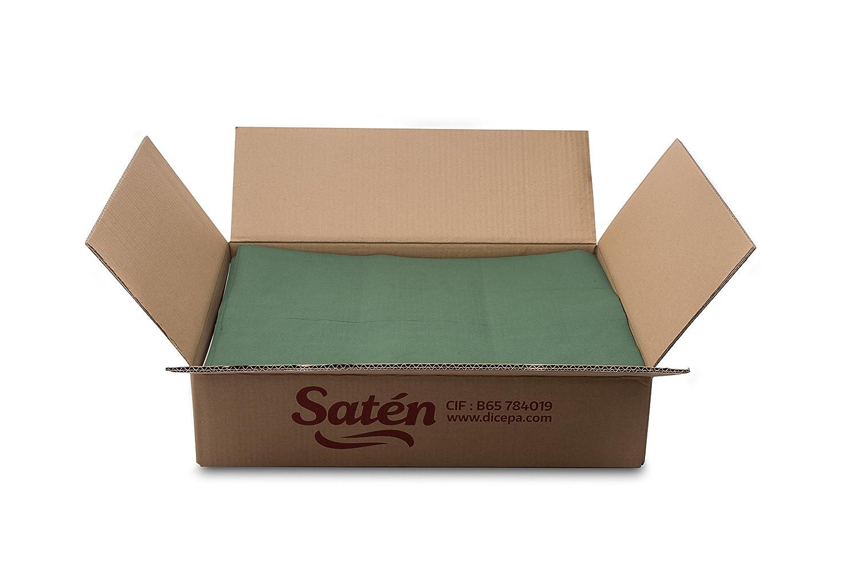 Saten mt35105535 Placemat, 35 x 50 cm, Embossed, 44 GR, Pack of 500, Green 35x 50cm 44GR DICEPA