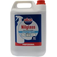 Nilco H3 Nilglass Glass and Mirror Cleaner, 5L