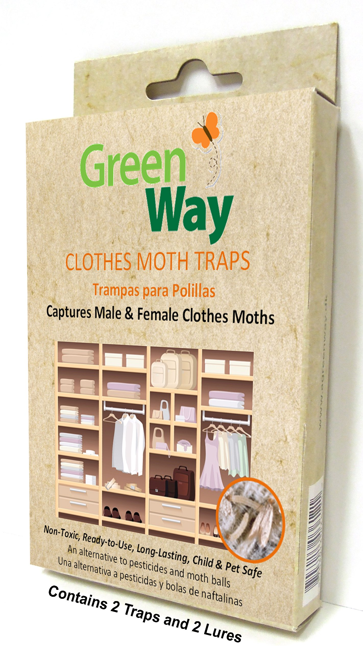 Greenway Clothes Moth Trap 1 Pack 2