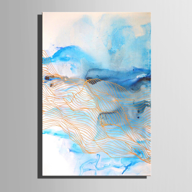 HJKHK Fantasie blau dekorative Malerei, Malerei, Malerei, rahmenlos Gemälde, dekorative Malerei das Wohnzimmer Studie , 4060 B01JUKGMA2   Zu einem niedrigeren Preis    Authentisch    Deutsche Outlets  4939bc