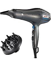 Imetec Salon Expert P3 3200 Asciugacapelli Professionale, 2200 W, Griglia con Rivestimento in Ceramica, Tecnologia a Ioni, 8 Combinazioni Aria/Temperatura