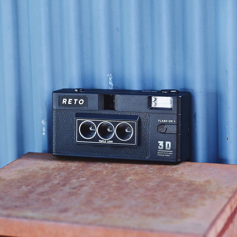 RETO3D Film Camera Lenticular 3D Effect Boomerang Camera