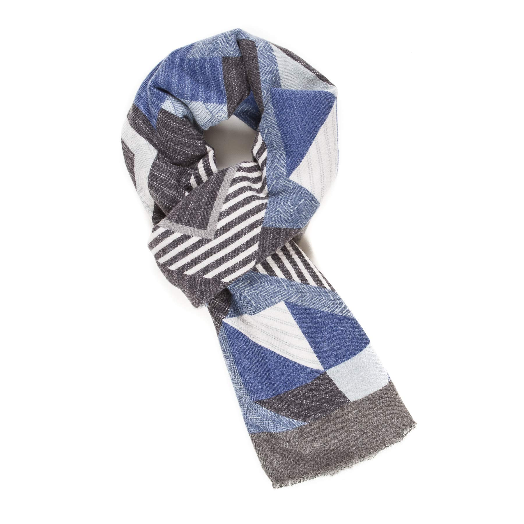 d8e2ca34ffc2b Scarf for Men Reversible Elegant Classic Cashmere Feel Scarves for Spring  Winter product image