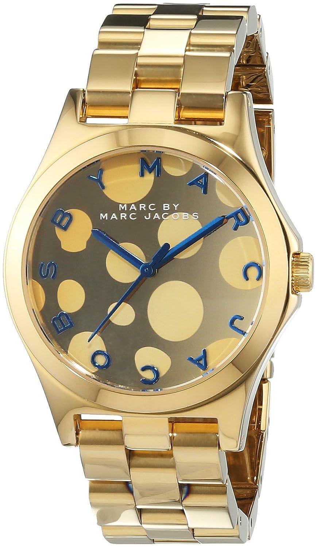 Marc Jacobs Damen-Armbanduhr Analog Quarz Edelstahl MBM3267