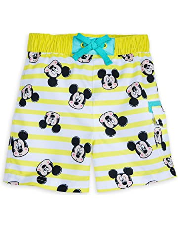 f55c71552e Disney Mickey Mouse Striped Swim Trunks for Baby Size 18-24 MO Multi