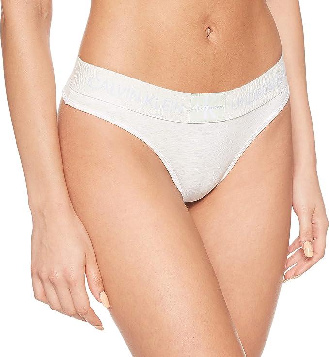 Calvin Klein Thong Tanga (Pack de 2) para Mujer: Amazon.es: Ropa y ...