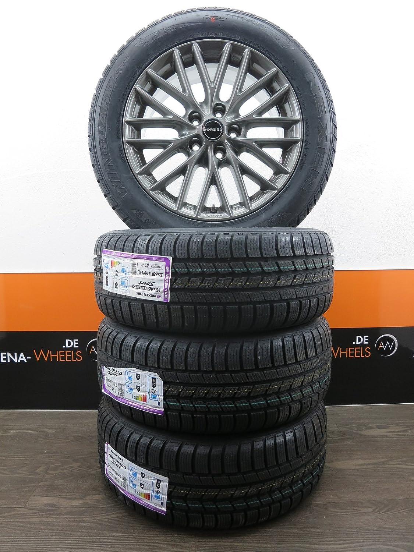 2 paia 85mm cerchioni e pneumatici in gomma per 1:10 Off-Road RC Auto Buggy pneumatici ricambi accessori nero