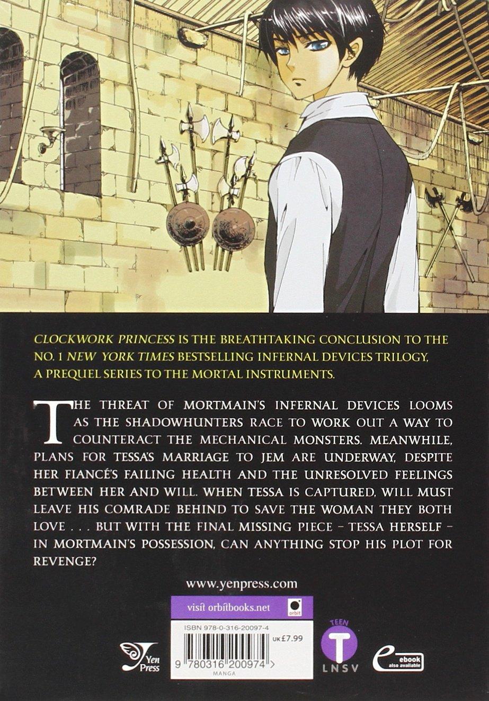 The Infernal Devices: Clockwork Princess: Cassandra Clare, Hyekyung Baek:  0000316200972: Amazon: Books