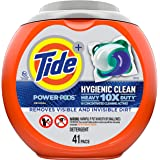 Tide Hygienic Clean Heavy 10x Duty Power PODS Liquid Laundry Detergent, Original, 41 count (Packaging may vary)