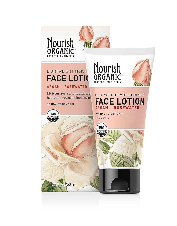 Nourish Organic Lightweight Moisturizing Face Lotion, 1.7-Ounce 6.67383E+11
