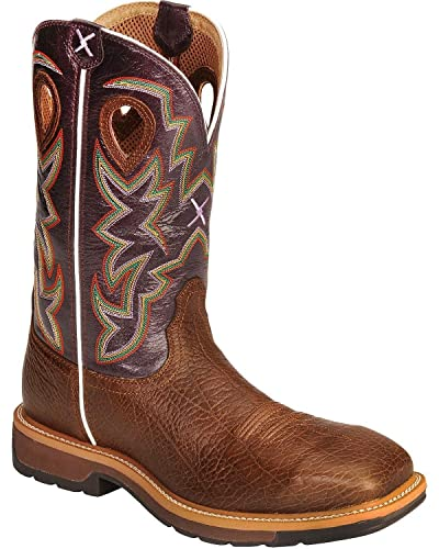 506910691d8 Twisted X Men's Lite Pull-On Work Boot Composite Toe