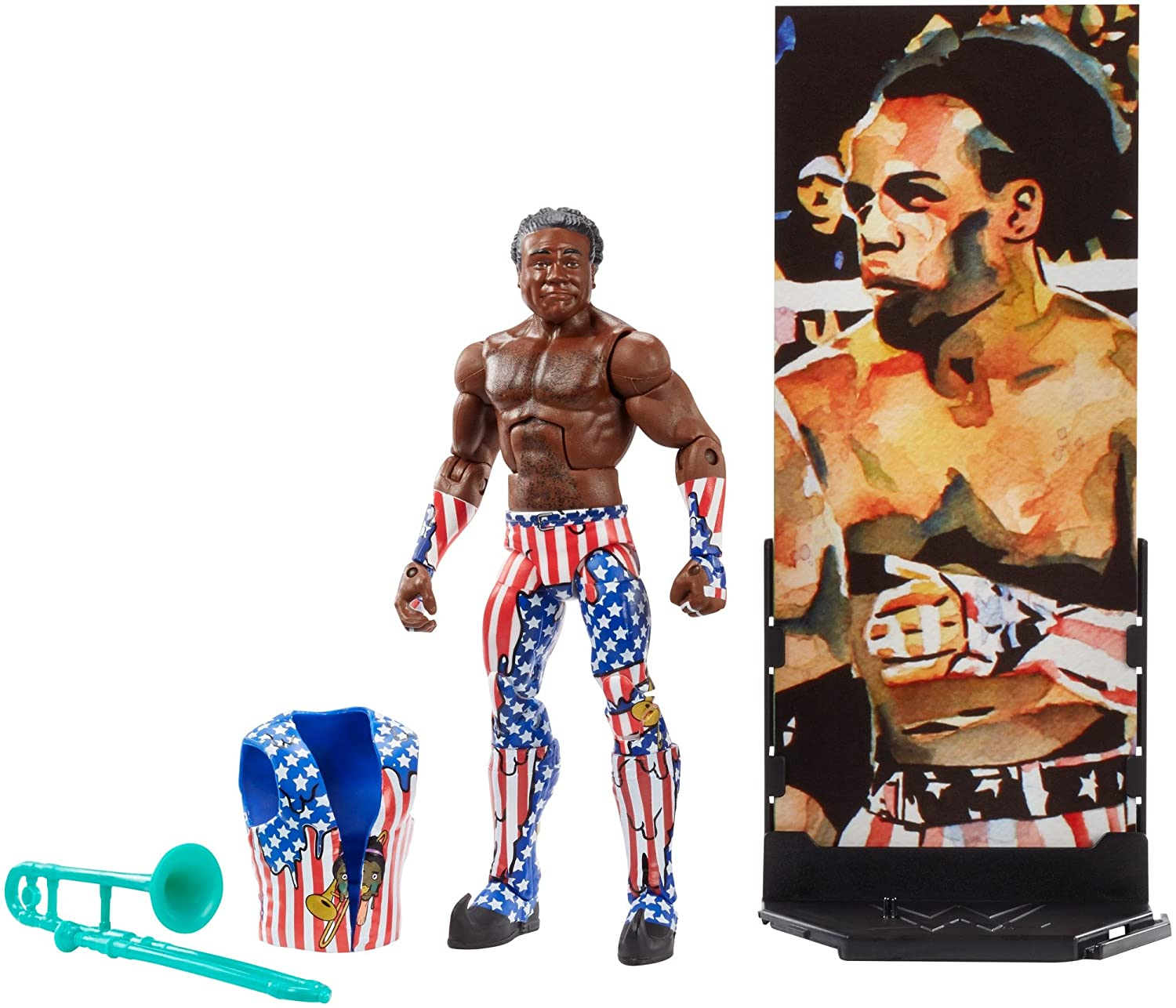 WWE Elite Collection Series # 60 Xavier Woods Action Figure